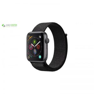 ساعت هوشمند اپل واچ سری 4 مدل 44mm Space Gray Aluminum Case With Black Sport Loop - 0
