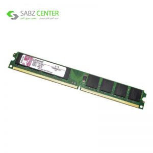 رم دسکتاپ DDR2 تک کاناله 800 مگاهرتز CL6 کینگستون مدل slim ظرفیت 2 گیگابایت - 0