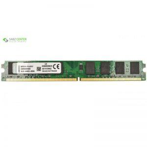 رم دسکتاپ DDR2 تک کاناله 800 مگاهرتز کینگستون ظرفیت 2 گیگابایت - 0