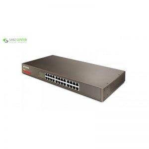سوییچ 24 پورت 10/100 آی پی کام مدل IP-COM F1024 - 0