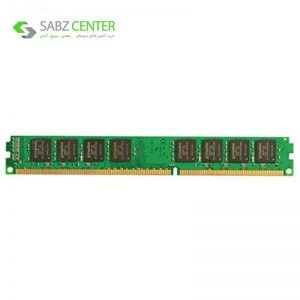 رم کامپیوتر کینگستون مدل ValueRAM DDR3 1600MHz CL11 ظرفیت 4 گیگابایت - 0