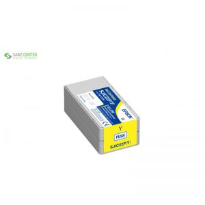 کارتریج زرد اپسون مدل SJIC22P مناسب برای پرینتر C3500 - 0