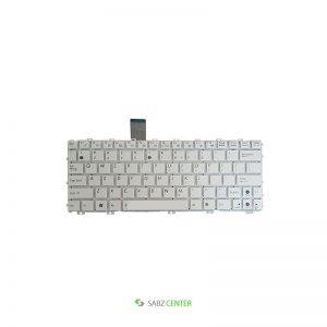 کیبورد لپ تاپ ایسوس 1015 سفید-اینتر کوچک بدون فریم