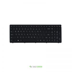 کیبرد لپ تاپ لنوو IdeaPad Z510 مشکی-با فریم