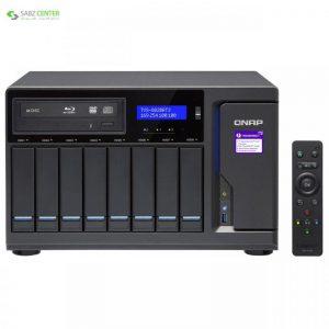 ذخیره ساز تحت شبکه کیونپ مدل TVS-882BR-ODD-i5-16G - 0