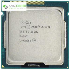 پردازنده مرکزی اینتل سری Ivy Bridge مدل Core i5-3470 - 0