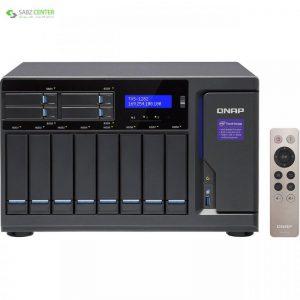 ذخیره ساز تحت شبکه کیونپ مدل TVS-1282-i5-16G بدون دیسک - 0