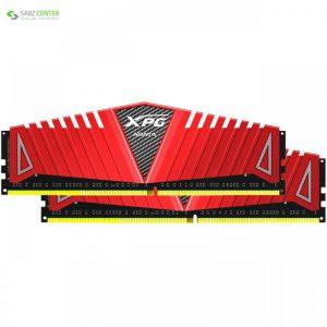 رم دسکتاپ DDR4 دو کاناله 2400 مگاهرتز CL16 ای دیتا مدل XPG Z1 ظرفیت 16 گیگابایت ADATA XPG Z1 DDR4 2400MHz CL16 Dual Channel Desktop RAM - 16GB - 0