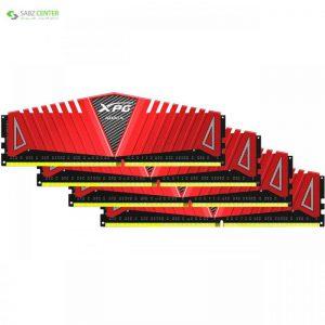 رم دسکتاپ DDR4 چهار کاناله 2400 مگاهرتز CL16 ای دیتا مدل XPG Z1 ظرفیت 64 گیگابایت ADATA XPG Z1 DDR4 2400MHz CL16 Quad Channel Desktop RAM - 64GB - 0