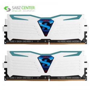 رم دسکتاپ DDR4 دوکاناله CL16 گیل Super Luce سری سفید ظرفیت 16