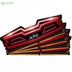رم دسکتاپ DDR4 چهار کاناله 2400 مگاهرتز CL16 ای دیتا مدل XPG Dazzle ظرفیت 32 گیگابایت ADATA XPG Dazzle DDR4 2400MHz CL16 Quad Channel Desktop RAM - 32GB - 0