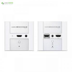 توسعه دهنده تصویر HDMI دیواری لنکنگ مدل LKV372W Lenkeng LKV372W HDMI Wall Plate Extender - 0