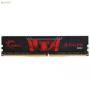 رم دسکتاپ DDR4 تک کاناله 2400 مگاهرتز CL17 جی اسکیل مدل Aegis ظرفیت 4 گیگابایت - 0
