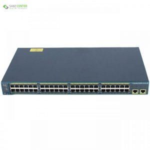 سوییچ 48 پورت سیسکو مدل WS-C2960-48TT-L Cisco WS-C2960-48TT-L 48-Port Switch - 0