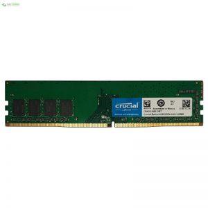 رم دسکتاپ DDR4 تک کاناله 2400 مگاهرتز CL17 کروشیال مدل Basics ظرفیت 4 گیگابایت - 0