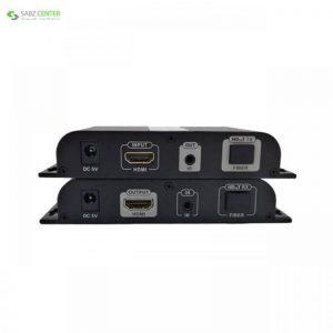توسعه دهنده تصویر HDMI بر روی فیبر نوری لنکنگ مدل LKV378A Lenkeng LKV378A HDMI over Fiber Extender - 0