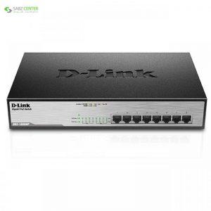 سوییچ 8 پورت POE دی-لینک مدل DGS-1008MP D-Link DGS-1008MP 8-Port POE Switch - 0