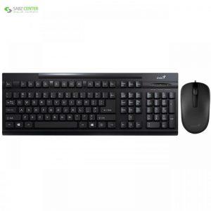کیبورد و ماوس جنیوس مدل KM-125 با حروف فارسی Genius KM-125 Keyboard With Mouse With Persian Letters - 0