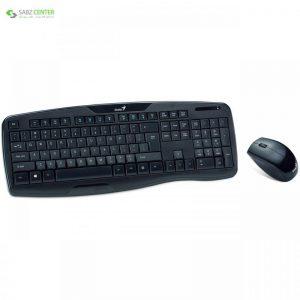 کیبورد و ماوس جنیوس مدل KB-8000X با حروف فارسی Genius KB-8000X Keyboard and Mouse With Persian Letters - 0