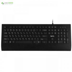 کیبورد تسکو مدل TK 8028 با حروف فارسی TSCO TK 8028 Keyboard With Persian Letters - 0