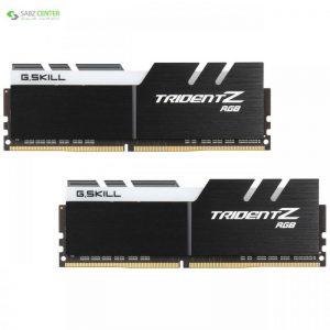 رم دسکتاپ DDR4 دو کاناله 3200 مگاهرتز CL16 جی اسکیل سری TRIDENT Z RGB ظرفیت 16 گیگابایت G.SKILL TRIDENT Z RGB DDR4 3200MHz CL16 Dual Channel Desktop RAM - 16GB - 0
