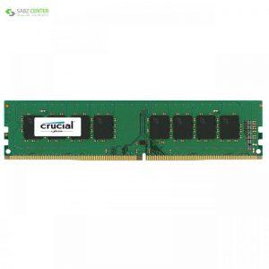 رم دسکتاپ DDR4 تک کاناله 2400 مگاهرتز کروشیال ظرفیت 8 گیگابایت Crucial DDR4 2400MHz Desktop RAM - 8GB - 0