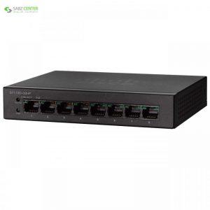 سوئیچ 8 پورت سیسکو مدل SF110D-08HP Cisco SF110D-08HP 8Port Switch - 0