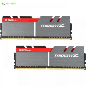 رم دسکتاپ DDR4 دو کاناله 3400 مگاهرتز CL16 جی اسکیل سری TRIDENT Z ظرفیت 16 گیگابایت G.SKILL TRIDENT Z DDR4 3400MHz CL16 Dual Channel Desktop RAM - 16GB - 0