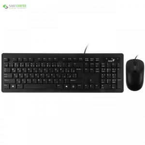 کیبورد و ماوس جنیوس مدل Slimstar C130 با حروف فارسی Genius Slimstar C130 Keyboard and Mouse With Persian Letters - 0