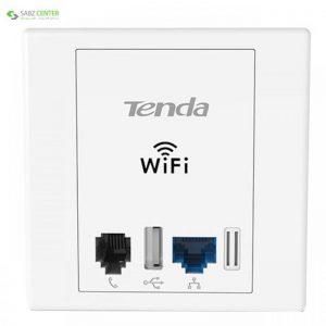 اکسس پوینت بی سیم N300 دیواری تندا مدل W6 Tenda W6 Wireless N300 In-Wall Plate Access Point - 0