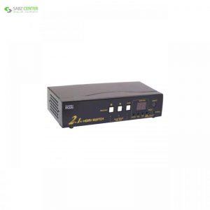 سوئیچ HDMI دو پورت کی نت پلاس مدل KPS7202 KNETPLUS KPS7202 Auto HDMI Switch 2Port - 0