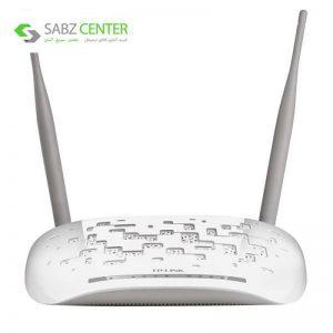 مودم روتر ADSL2 Plus بیسیم N300 تی پی-لینک مدل TD-W8961N TP-LINK TD-W8961N ADSL2 Plus Wireless N300 Modem Router - 0