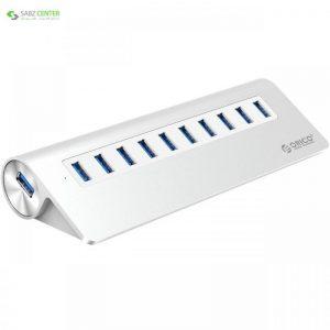 هاب USB 3.0 ده پورت اوریکو مدل M3H10-V2 Orico M3H10-V2 10 Port USB 3.0 Hub - 0