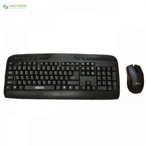 کیبورد و ماوس بی سیم سادیتا مدل SKM-1554WL با حروف فارسی Sadata SKM-1554WL Wireless Keyboard and Mouse - 0