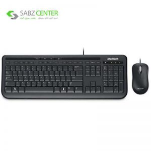 کیبورد و ماوس مایکروسافت مدل Desktop 600 Microsoft Desktop 600 Keyboard and Mouse - 0