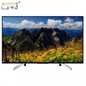 تلویزیون ال ای دی هوشمند سونی مدل KD-49X7500F سایز 49 اینچ Sony KD-49X7500F Smart LED TV 49 Inch - 0
