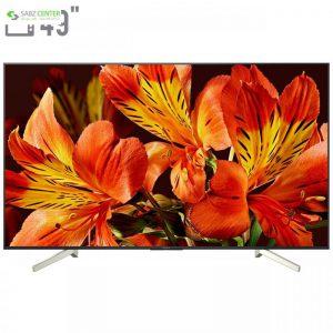 تلویزیون ال ای دی هوشمند سونی مدل KD-49X8500F سایز 49 اینچ Sony KD-49X8500F Smart LED TV 49 Inch - 0