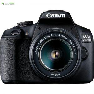 دوربین دیجیتال کانن مدل EOS 2000D به همراه لنز 18-55 میلی متر IS II Canon EOS 2000D Digital Camera With 18-55mm IS II Lens - 0