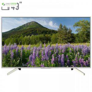 تلویزیون ال ای دی سونی مدل KD-49X7077F سایز 49 اینچ Sony KD-49X7077F LED TV 49 Inch - 0