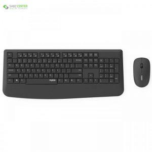 کیبورد و ماوس بی سیم رپو مدل X1900 Rapoo X1900 Wireless Keyboard and Mouse - 0