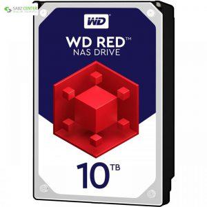 هارددیسک اینترنال وسترن دیجیتال مدل Red WD100EFAX ظرفیت 10 ترابایت Western Digital Red WD100EFAX Internal Hard Disk 10 TB - 0