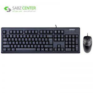 کیبورد و ماوس ای فورتک مدل KR-8572 A4Tech KR-8572 USB Keyboard and Mouse - 0