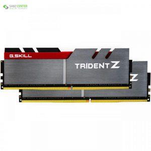 رم دسکتاپ DDR4 دو کاناله 3200 مگاهرتز CL16 جی اسکیل مدل Trident Z ظرفیت 32 گیگابایت G.SKILL Trident Z DDR4 3200Mhz CL16 Dual Channel Desktop RAM 32GB - 0