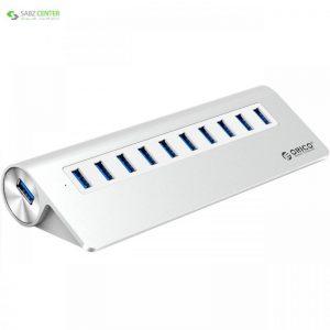 هاب USB 3.0 ده پورت اوریکو مدل M3H10-V1 Orico M3H10-V1 10 Port USB 3.0 Hub - 0