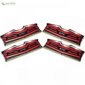 رم دسکتاپ DDR4 چهار کاناله 2800 مگاهرتز ای دیتا مدل XPG Dazzle ظرفیت 32 گیگابایت ADATA XPG Dazzle DDR4 2800MHz Quad Channel Desktop RAM - 32GB - 0