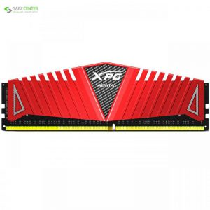 رم دسکتاپ DDR4 تک کاناله 2666 مگاهرتز CL16 ای دیتا مدل XPG Z1 ظرفیت 16 گیگابایت ADATA XPG Z1 DDR4 2666MHz CL16 Single Channel Desktop RAM - 16GB - 0