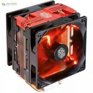 خنک کننده پردازنده کولر مستر مدل Hyper 212 LED Turbo Red Edition Cooler Master Hyper 212 LED Turbo Red Edition CPU Cooler - 0
