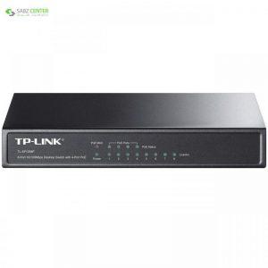 سوئیچ 8 پورت تی پی-لینک TL-SF1008P TP-LINK TL-SF1008P 8-Port 10/100M Desktop PoE Switch - 0