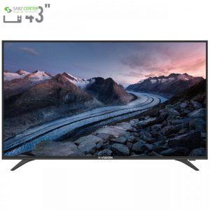 تلویزیون ایکس ویژن مدل 43XT520 سایز 43 اینچ X.Vision 43XT520 LED TV 43 Inch - 0