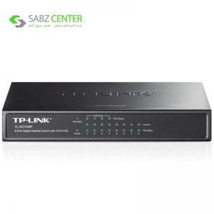 سوییچ 8 پورت گیگابیتی تی پی-لینک به همراه 4 پورت POE مدل TL-SG1008P TP-LINK TL-SG1008P 8-Port Gigabit Desktop Switch with 4-Port PoE - 0